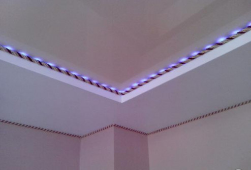 Декоративный шнур для натяжных потолков