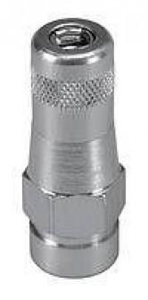 Усиленная прямая лепестковая насадка для пресс масленок типа Н1, Н2, Н3 M 10 x 1 вн