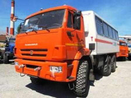 Вахтовый Автобус 4208 Камаз 5350 6х6