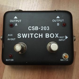 гитарный сплитер switch box CSB - 203