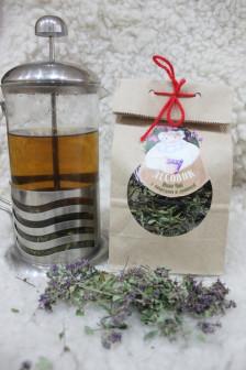 ферментированный Иван чай с чабрецом и душицей