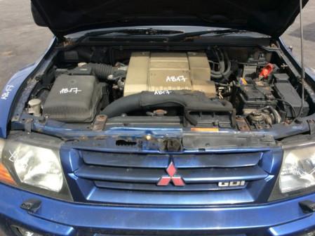 Двигатель Мицубиси Паджеро 3 3.5