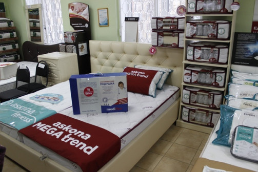 Кровати и матрасы Аскона