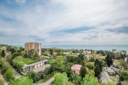 Квартира с видом на море в центре Сочи
