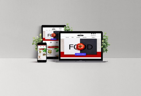 Landing Page  Сайт-визитка для вашего бизнеса