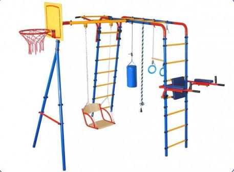 Уличный детский спортивный комплекс Уличный плюс