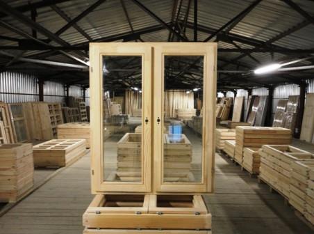 ОДСПц 12-10 п,п двухстворчатые окна со стеклопакетом