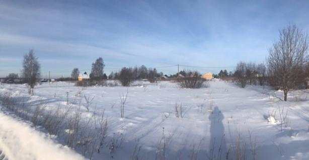 Участок 28 сот. ( ЛПХ ), д.Киндеево, на авто 15 мин от города Вологда.