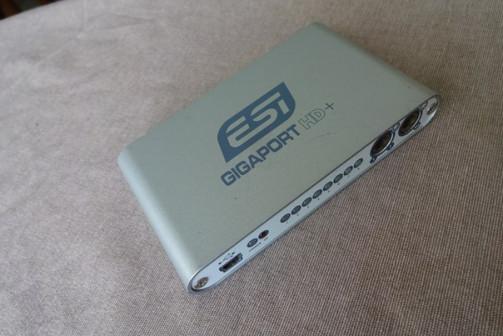 Звуковая USB карта - ESI gigaport HD+