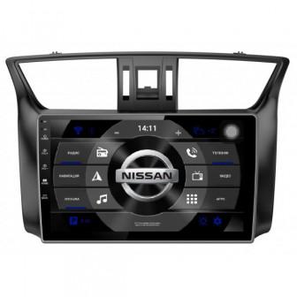 Головное устройство Subini NIS104Y с экраном 102 для Nissan Sentra 2012+ (+ камера заднего вида)