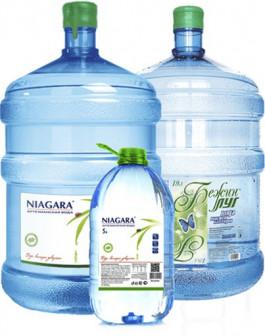 Бесплатная доставка бутилированной воды НИАГАРА