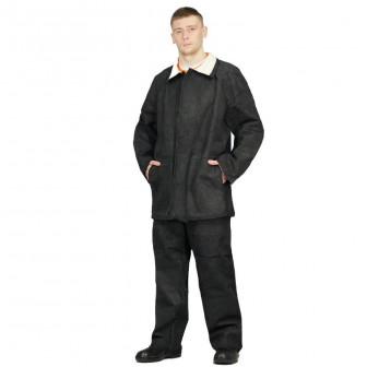 Костюм сварщика цельноспилковый М3, куртка+брюки