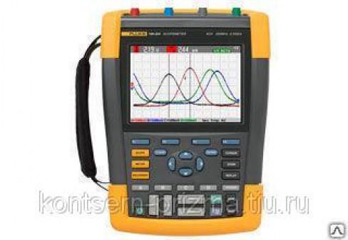 Осциллограф мультиметр ScopeMeter® Fluke 190 серии II