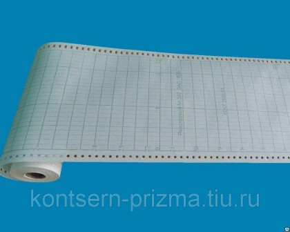 Бумага диаграммная индустриальная (фабрика диаграммных бумаг)
