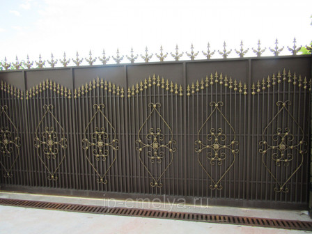 Ворота кованные Стандарт