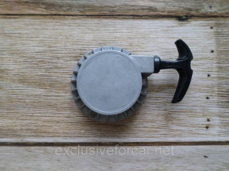 Инерционный стартер для детского квадроцикла 49cc (без воздуховода) с выдвигающейся частью