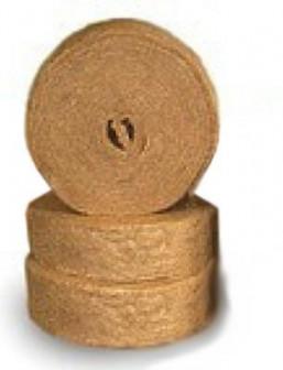 Утеплитель межвенцовый ДЖУТ 1С150 мм(20 мп) 5мм