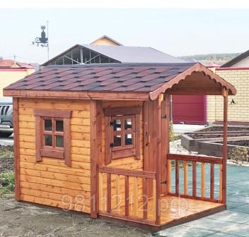 Детский домик для дачи, дома и улицыВенди S 3,75 кв, деревянный для детей