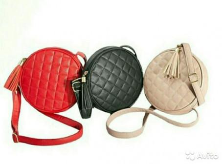 Женская сумка Эльза, черная и красная