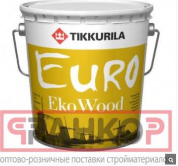 TIKKURILA EURO EKO WOOD антисептик лессирующий, бе