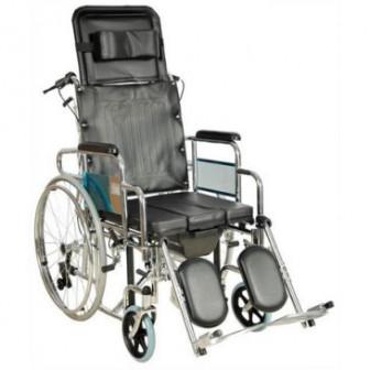 Кресло коляска FS204BJG (MK C010 46 с ручным тормозом,без ручного тормоза) арт МдТМ24581