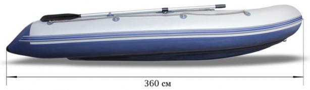 Лодка моторная Флагман 360 U