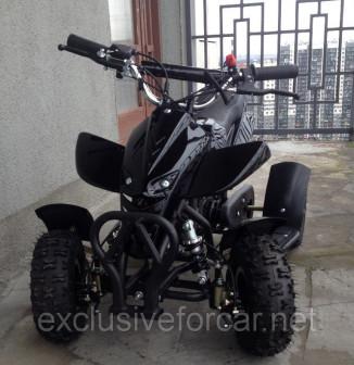 Квадроцикл детский Boraby ATV kids 49 см3 (чёрный)