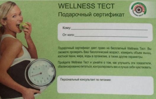 Тест состава тела