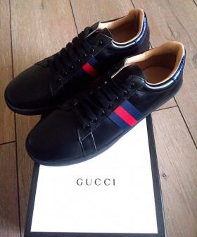 Брендовые кроссовки Gucci