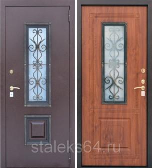 Дверь входная уличная Ажур