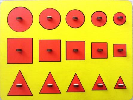 геометрические рамки вкладыши
