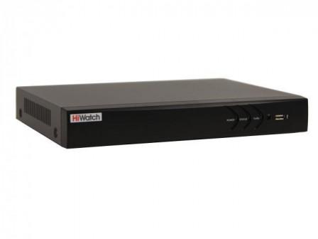 Гибридный HD TVI регистратор HiWatch (Хайвотч) DS H116U