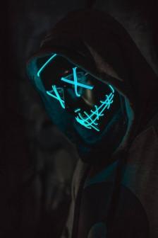 Неоновая маска Судный день