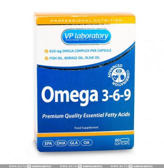 Omega 3-6-9 Vplab