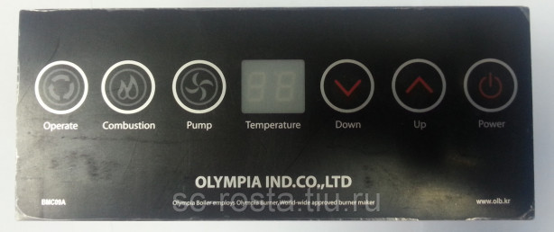 Блок управления для дизельного котла Олимпия OLB 170F