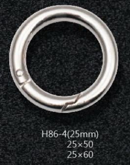 Кольцо карабин 25 мм Никель