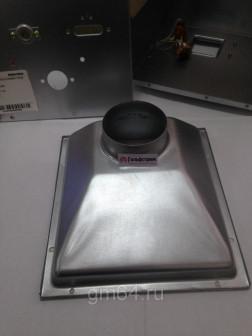 Коллектор дымовых газов для котла Navien 13 24 кВт (крышка камеры сгорания)