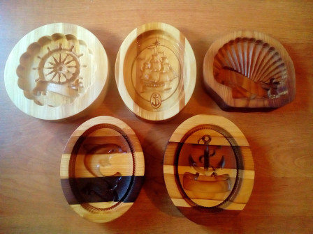 Формы для пряников Морская коллекция