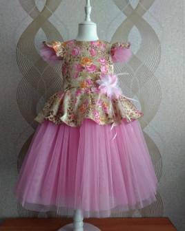 Нарядное платье Английская роза