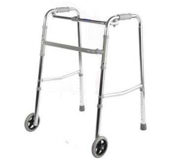 Опоры ходунки Симс 2 R Wheel для инвалидов и пожилых людей (взрослые) на колесах