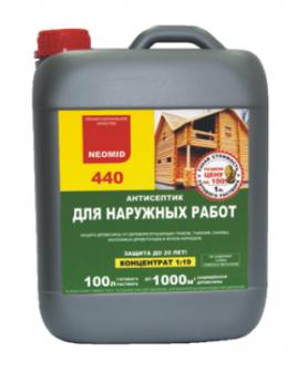 NEOMID 440 ЭКО19 концдля внешней защиты5л