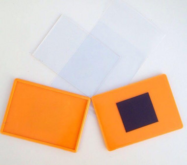 Акриловый магнит большой Оранжевый