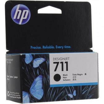 Картридж HP DJ T120T520 (O) CZ133A, №711, BK, 80мл