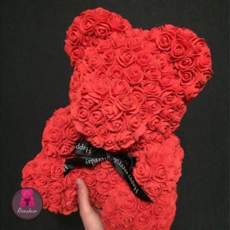 Мишка из Фоамирановых роз Калининград