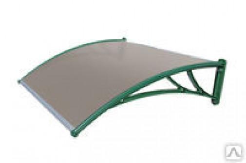 Козыре зеленый из поликарбоната 1200х930х280