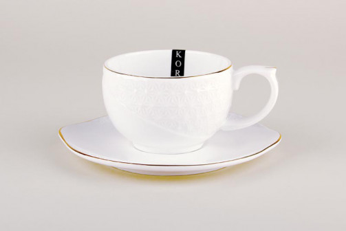 Пара чайная 240мл фкруг CS508610 A снежная королеваз