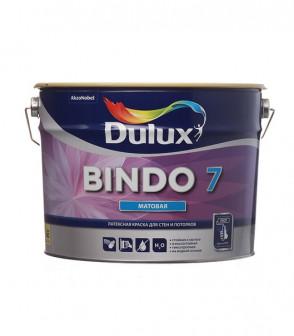 Краска Dulux Professional Bindo 7 мат BW 9л.