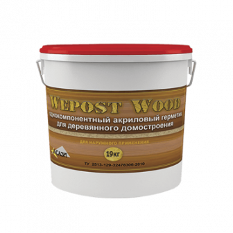 Герметик для дерева Wepost Wood   15 кг