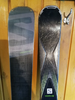 Горные лыжи Salomon XDrive premium