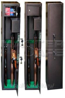 Сейфы для оружия О 1 Размеры мм 1250 220 250